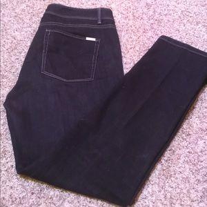 White House Black Market Black ankle jeans